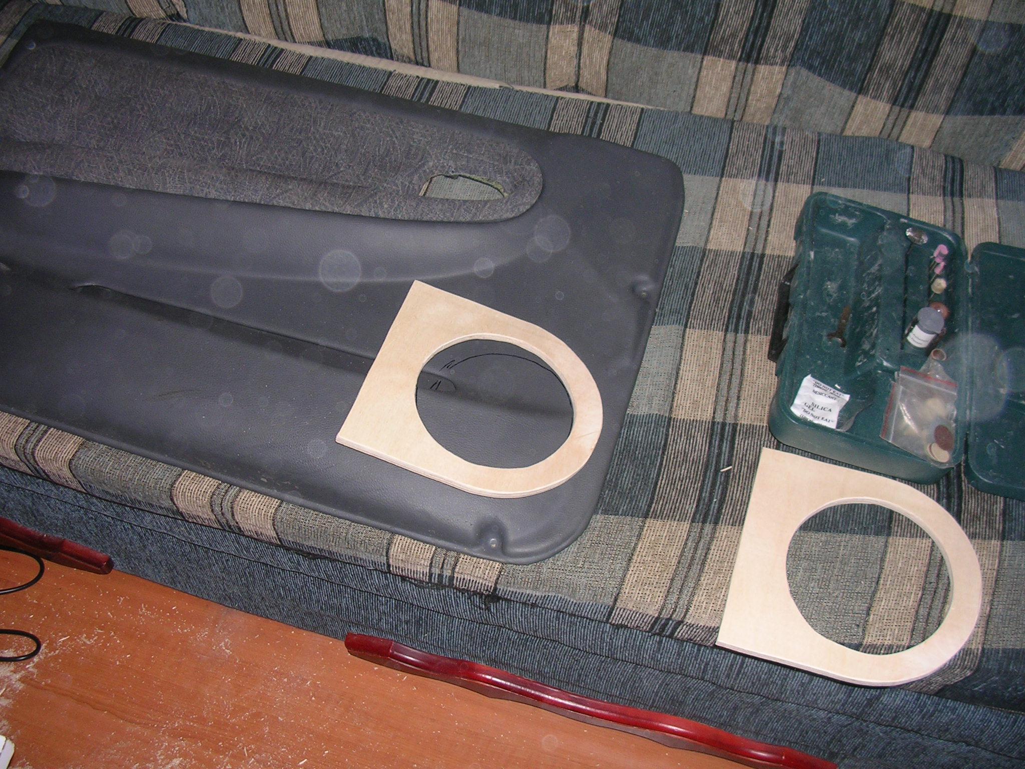 Изготовление подиумов в двери